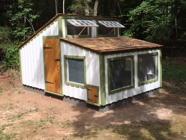 Woods Fresh Air Poultry House Backyard Chickens