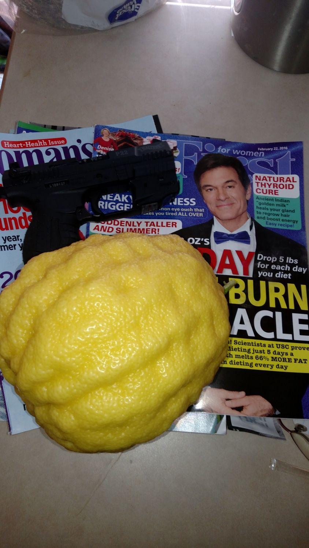 Texas size lemons.