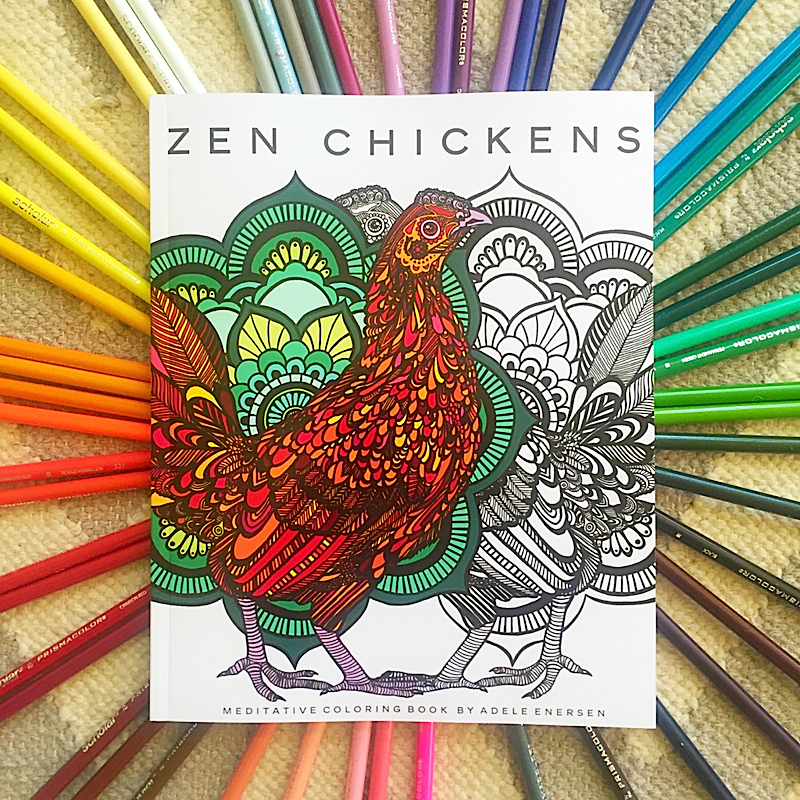 Anyone into Adult Coloring Books? (Chicken Coloring books ...