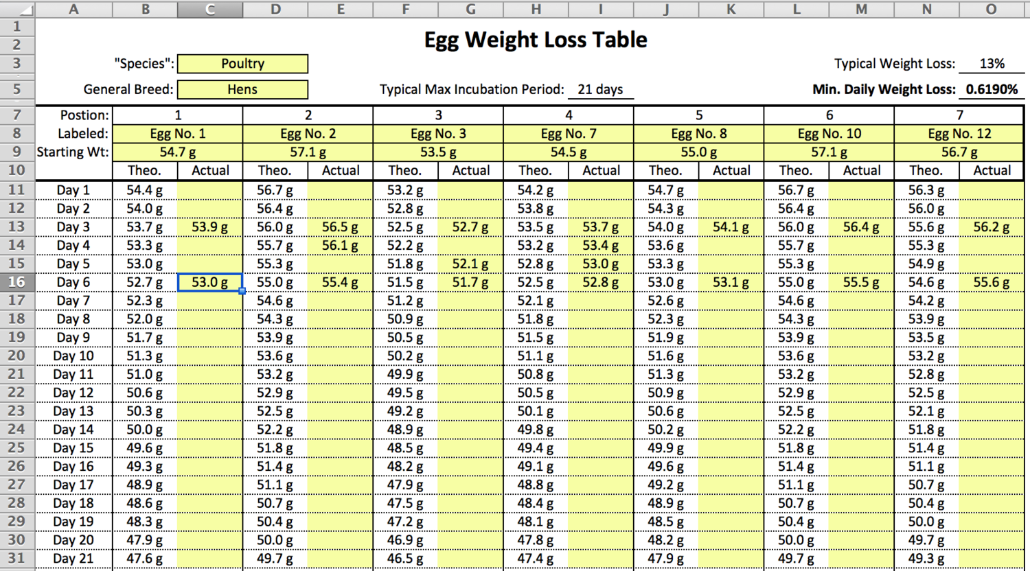 Eggs not on track for weight loss help chart included img nvjuhfo Images