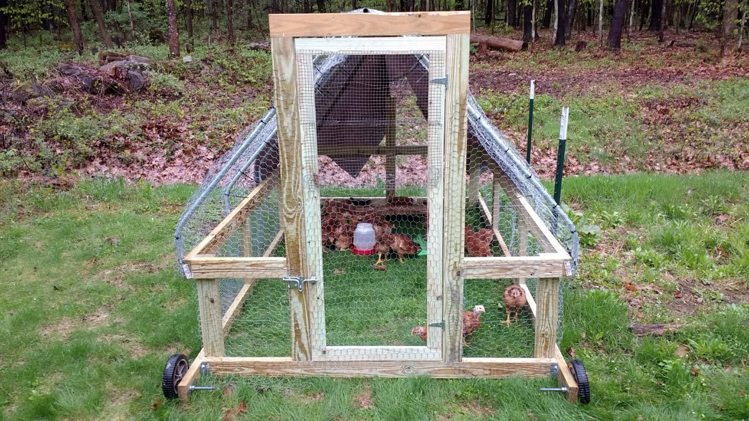 stress free chicken tractor plans pdf