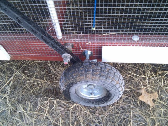 Tractor Wheels Chicken Co Op : Best wheels for chicken tractor where to look page