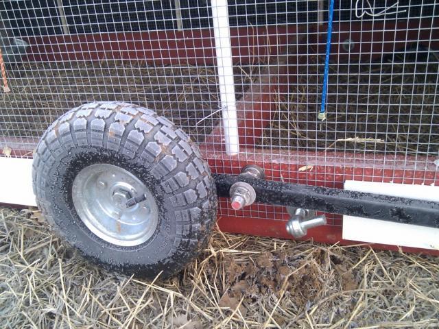 Tractor Wheels Chicken Co Op : Organizer chicken tractor plans with wheels diy coop