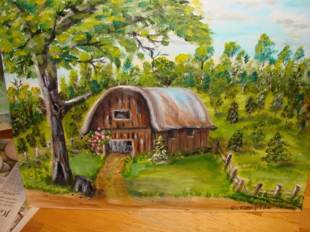 Home garden designs backyard landscaping for beginners for How to start an oil painting for beginners