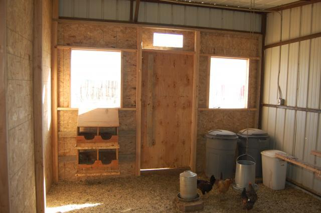 Daisychick 39 s new chicken coop backyard chickens community for Chicken coop interior designs