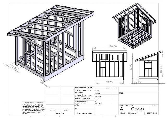 Coop Build 2011 on attached carport ideas