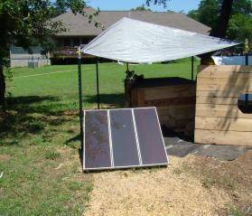 Solar Powered Interior Coop Light