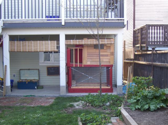 Urban Playhouse Coop