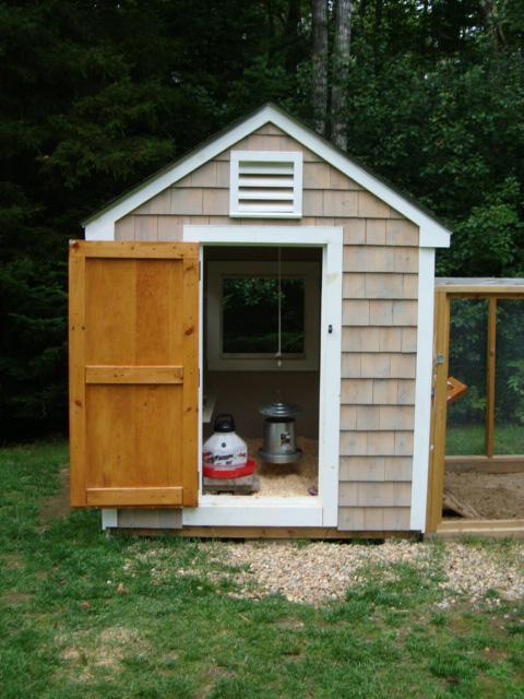 Home garden design for Backyard chicken coop plans