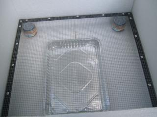 Bottom Rack, Jars & Water Tray
