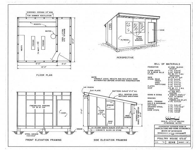 Chicken House Plans Pdf