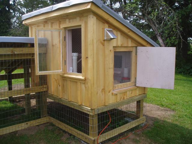 Ventilation For Chicken Houses : Show me pictures of your coop ventilation