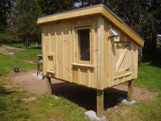 Ventilation For Chicken Houses : Monk s chicken coop backyard chickens community