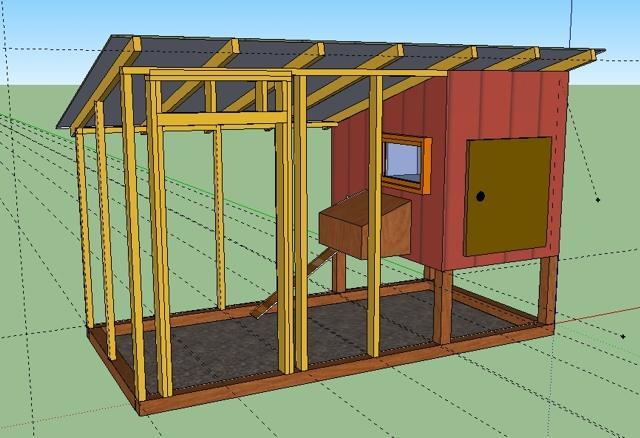 Chichen paradise coop backyard chickens community for Chicken coop dimensions