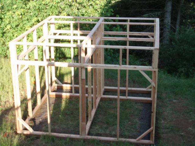Chicken coop pigeon loft backyard chickens for Pigeon coop ideas