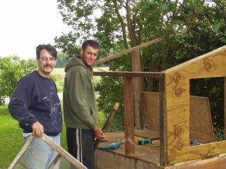 Building Our First Coop