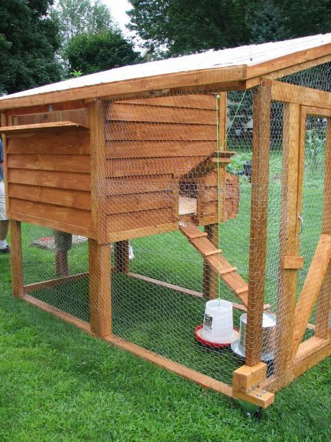 Our chicken coop from another angle
