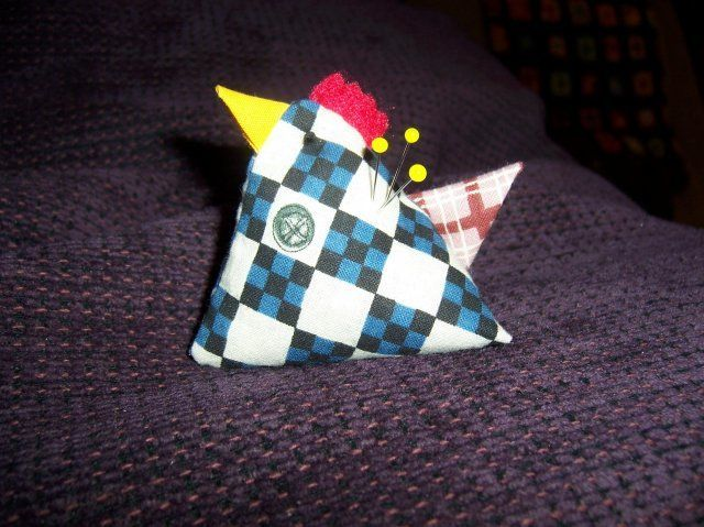 Chicken Pin Cushion Instructionschicken Pin Cushion