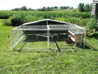 Looking for pvc plans for large chicken coop page 2 for Free range chicken coop plans