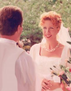 Our wedding in May, 2000