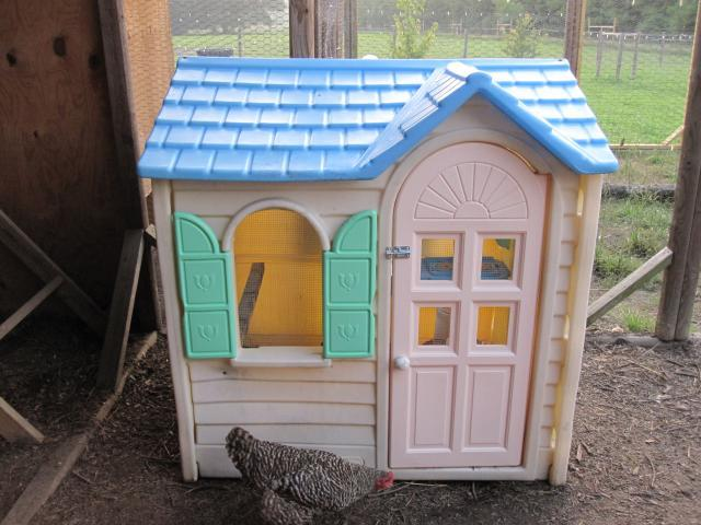 Another little tikes playhouse coop for Little tikes house