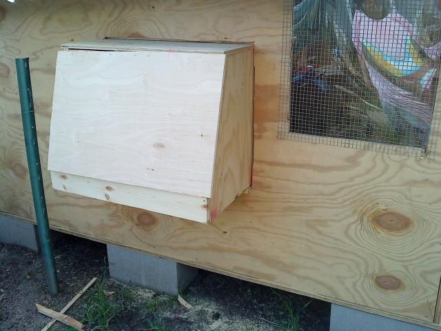 Rollaway Egg Nest Plans