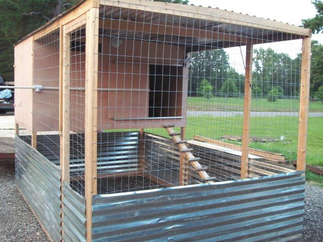 Backyard coop plans for turkey chicken duck for Duck hutch plans
