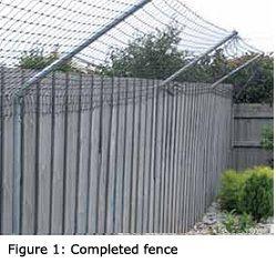 Would Non Electrified Fence Overhangs Work Backyard