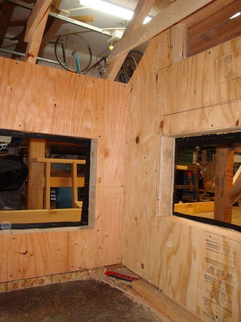 interior sheathing