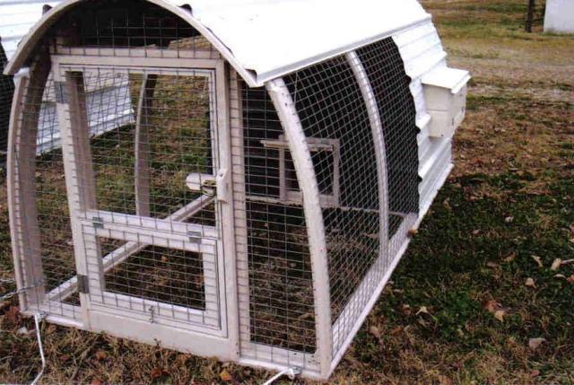 Pvc coops for Chicken coop made from pvc