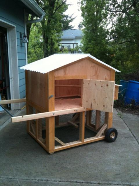 Waterer Chicken Tractor Images