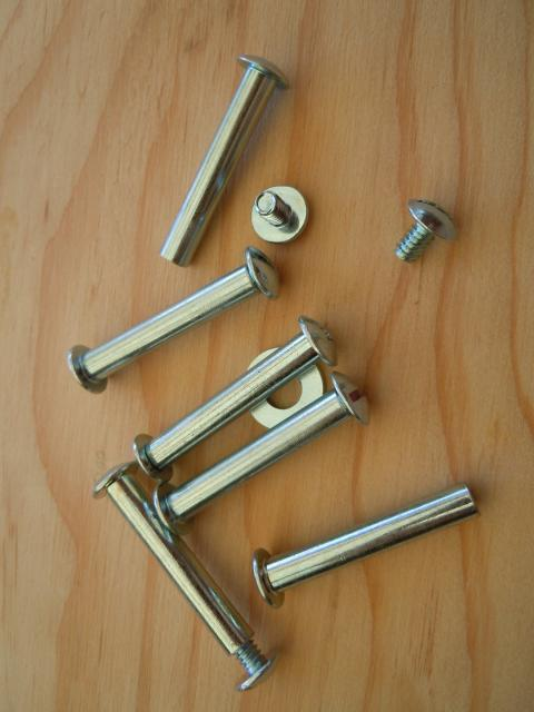 Sleeved screws used for connecting cover and treadle