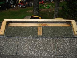 coop ridge vent frame