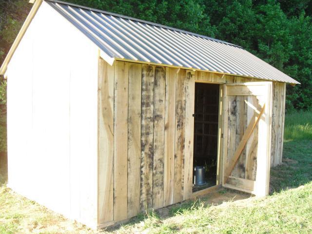 My New Chicken Barn (10' X 20') For Under $1000