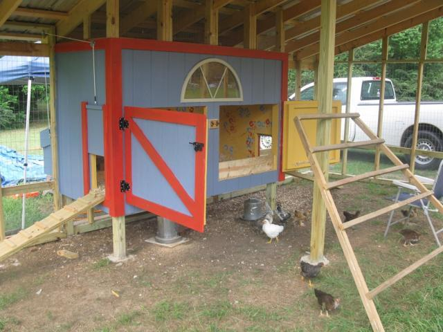 Backyard Chickens At Night : House in enclosed run  who doesnt shut coop door at night  Page 4