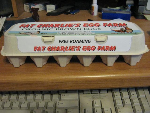 Custom Egg Carton