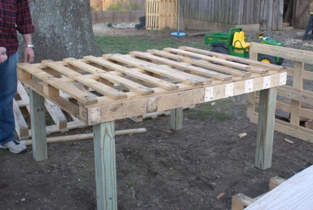 Make your own coop from free pallets see mine pic heavy Make your own hen house