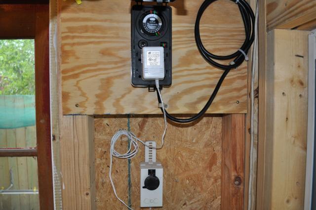Automatic chicken coop door opener and closer backyard for D20 chicken coop motor door