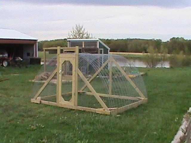 anyone make a big chicken tractor