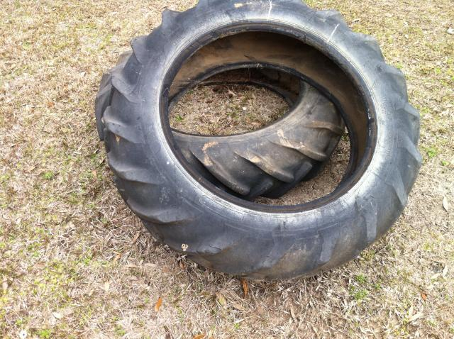 how to cut a tire in half