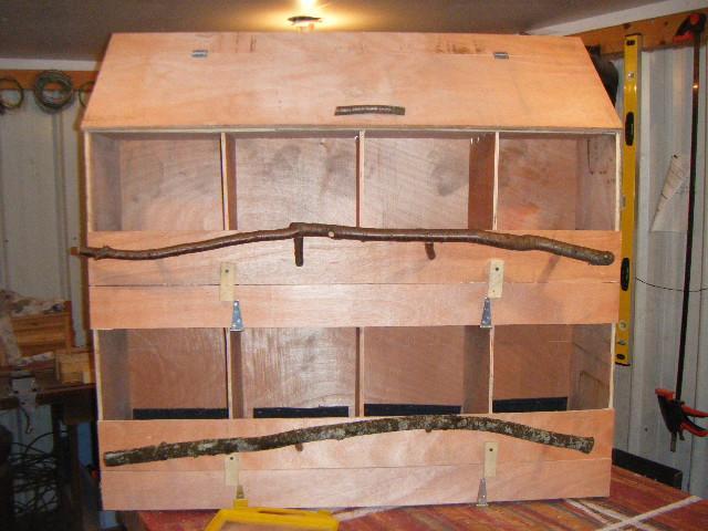 Front Rollout Nest Box Design