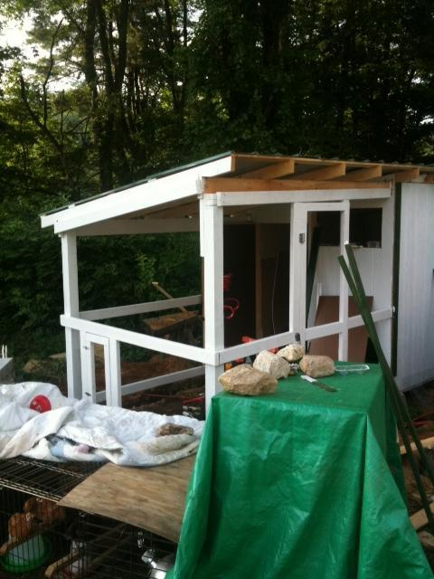 Completed Chicken Coop