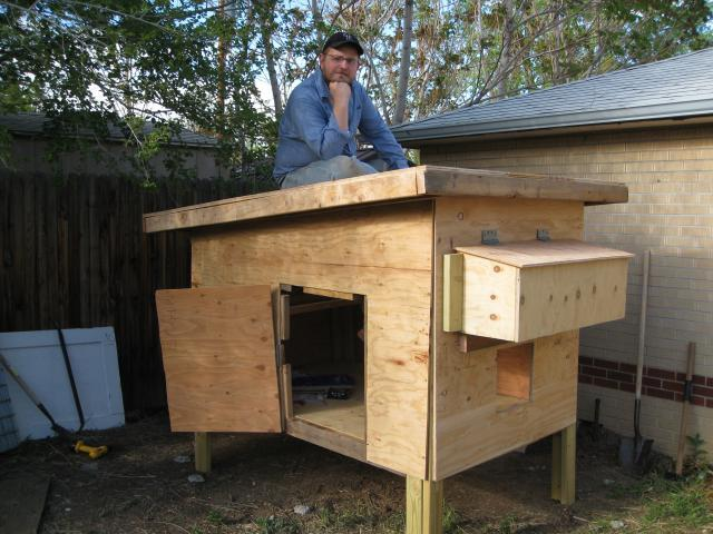 Free chicken coop plan nice one too on the purina mills for Maintenance free chicken coop