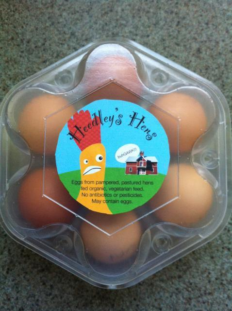 15 x Brand new egg cartons with personalised labels | Design ...