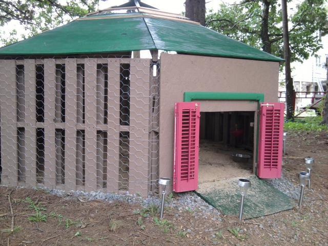 How tall to make a duck house backyard chickens for Duck hutch ideas
