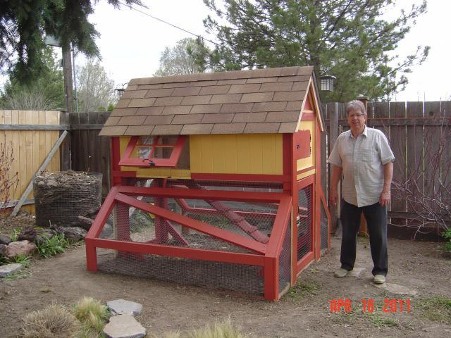 Fancy Backyard Chicken Coops : ourfancylittlechickencoop  BackYard Chickens Community
