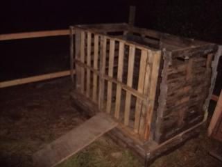 Chicken Coop Made From Pallet Backyard Chickens