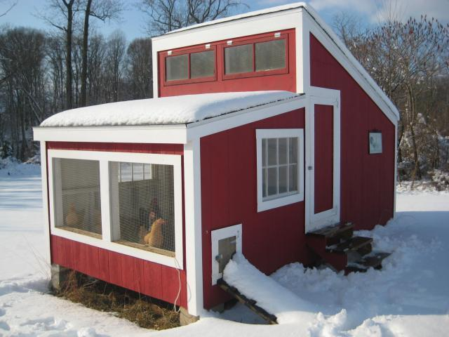 Hen house 2 backyard chickens community for Best windows for cold climates