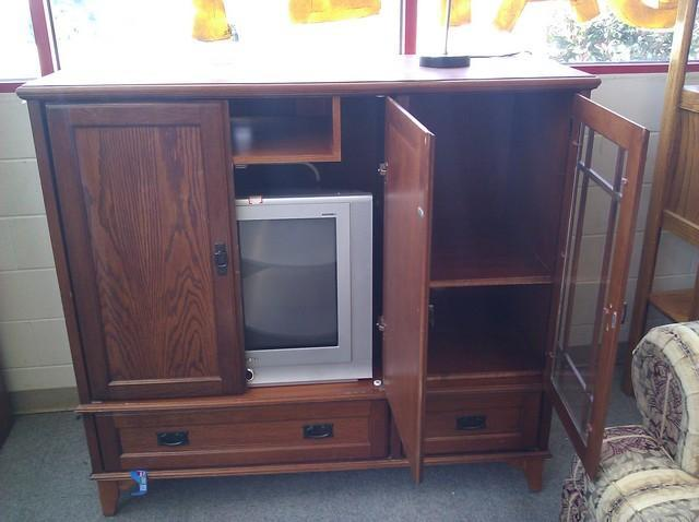 converting entertainment center 3