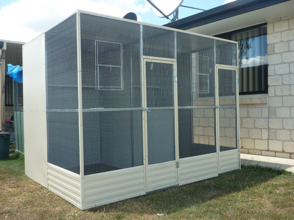 Could I Use An Aviary As A Chicken Coop
